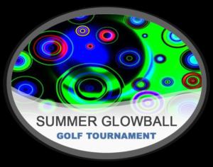 Summer Glowball Night Golf Tournament Hampton Public Golf Course Rochester Hills Michigan Near Detroit